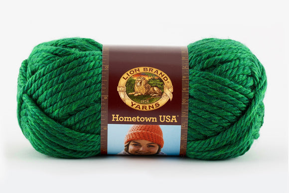 lion brand hometown usa yarn green bay