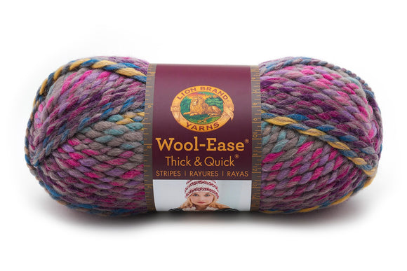 lion brand yarn wool ease thick & quick astroland