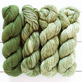 urth yarns merino gradient kit olive green