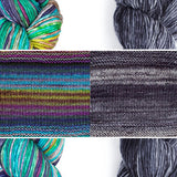 Nightshift Shawl Kit by Andrea Mowry