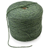 dark green cone yarn machine knitting wool