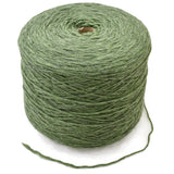medium green cone yarn machine knitting wool