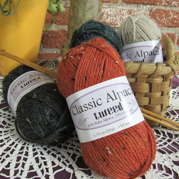 Classic Alpaca Tweed by The Alpaca Yarn Co.