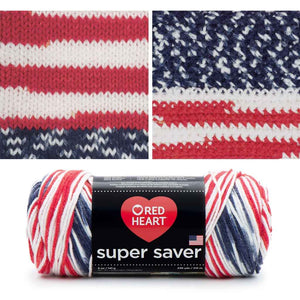 red heart super saver variegated yarn americana