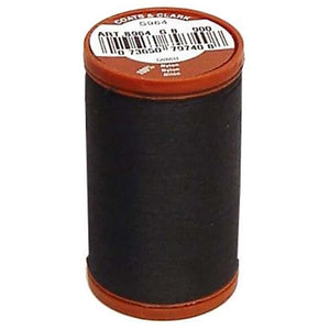 heavy duty upholstery thread for machine sewing or hand sewing 150 yard bobbin in color black