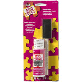 mod podge puzzle saver 2 ounce clear gloss finish with foam brush