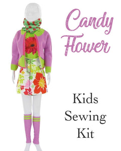 kids fashion design set vervaco