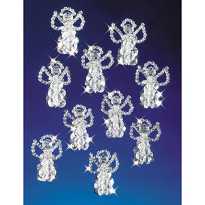 family beaded ornaments little angels
