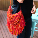 loom knitting purse pattern