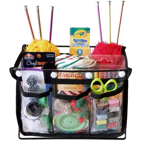 Craft Caddy, Free Standing Yarn Bin