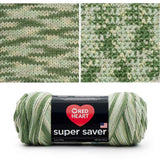 red heart super saver variegated yarn desert camo