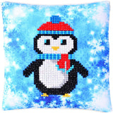 cute penguin pillow for winter decoration kids crafts
