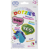 Diamond Dotz Dotzies Wow Stickers