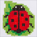 ladybug kids craft kit diamond dotz