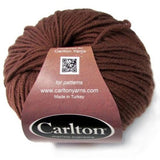 earth brown classic merino wool yarn carlton