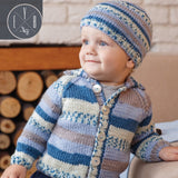 fair isle euro yarns bys cardigan knitting pattern
