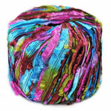feather yarn xanadu euro yarns novelty fuzzy yarn turquoise pink green 34