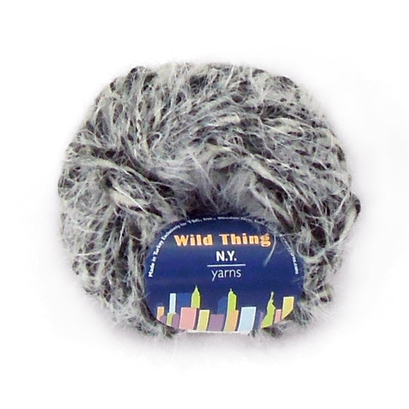 Wild Thing Eyelash Yarn by New York Yarns