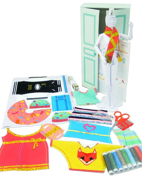 barbie clothes sewing kits for kids