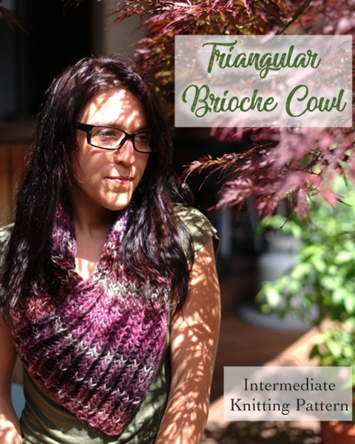 how to brioche knitting pattern