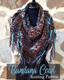 free cowl pattern super bulky warm winter cowl bohemian chic
