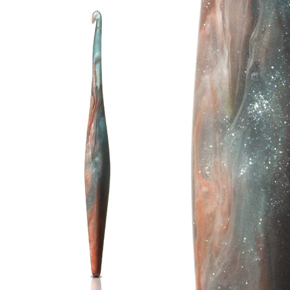 furls crochet hook resin hand cast andromeda