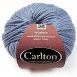 easy care merino yarn grey blue
