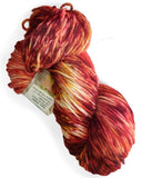 dk superwash merino red knitting wool