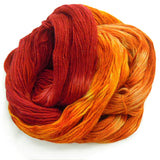 Autumn Breeze, Hand Dyed Yarn, Worsted Alpaca & Merino