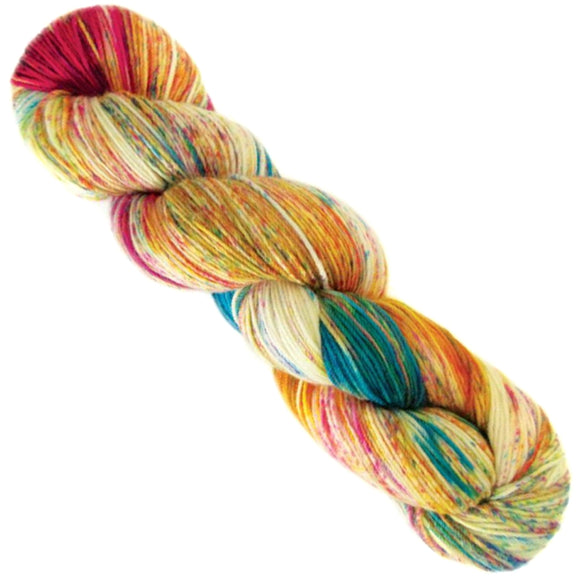 araucania yarns huasco sock hand painted guacamayo