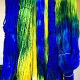 yarn dyes bright colorful jacquard