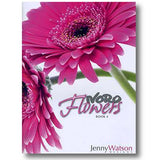 cover of jenny watsons flowers book 4 using noro yarns