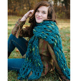 knit collage dash scarf knitting kit