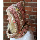 Hoodie Cowl Kit, Knit Collage