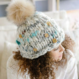 Knit Collage Yarns Dreamland in bloom beanie