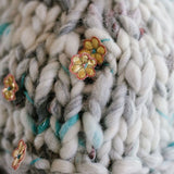Knit Collage Yarns Dreamland knitted swatch close up