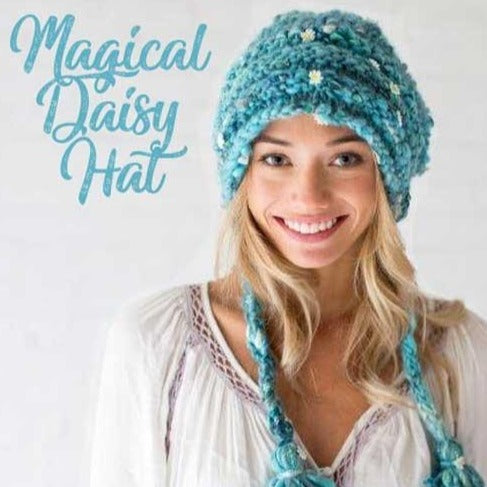 Flower Hat Knitting Pattern Daisy Chain Crown