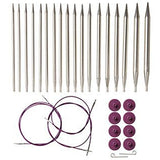 knit picks options interchangeable knitting needle set