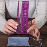 Knit Pick Needle View Sizer with Magnifier to Measure Gauge