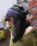 loom knitting pattern hat dropstitch
