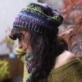 japanese super bulky yarn ginga noro hat