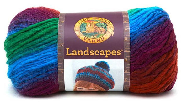 Landscapes Yarn from Lion Brand