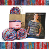 Mendocino Top Knitting Kit by Grace Akhrem