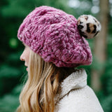 Merci Beaucoup Beret by Knit Collage
