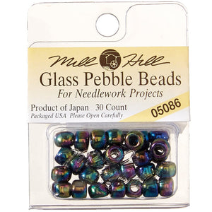Mill Hill Pebble Beads 5.5mm, 30-Pack