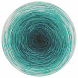 knitting fever online yarns fashion box no.1 gradient yarn teal jade ivory 19