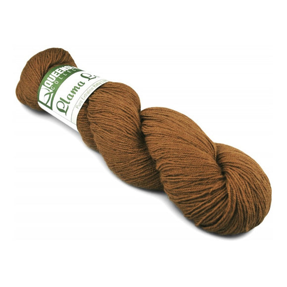 queensland collection yarn Llama lace toffee
