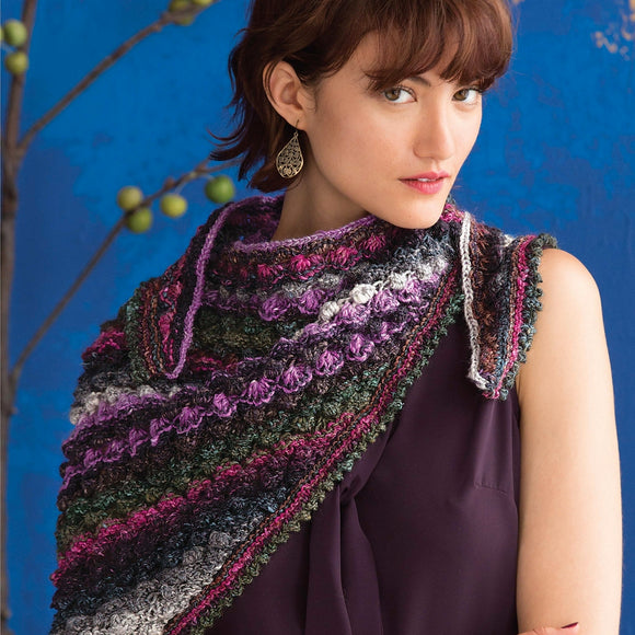 Hyacinth Stitch Shawl Knitting Kit
