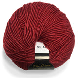 yarns northwest diana collection silk and merino crimson