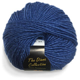 yarns northwest diana collection silk and merino marine